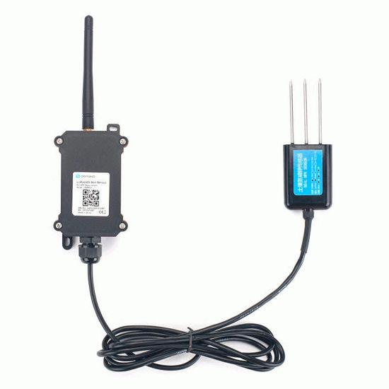 LSNPK01 - LoRaWAN IoT Soil Nitrogen, Phosphorous and Potassium Sensor