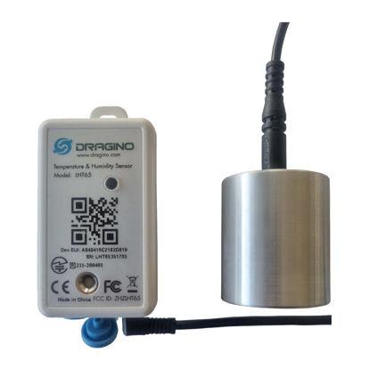 Dragnio LHT65 in Aluminium temperature buffer